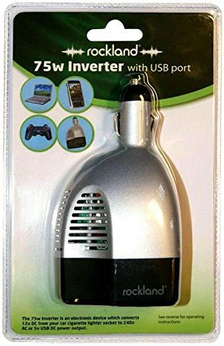 Enchufe de viaje para coche y furgoneta de 12 V a USB, enchufe de 2 y 3 pines, adaptador de inversor de corriente mini