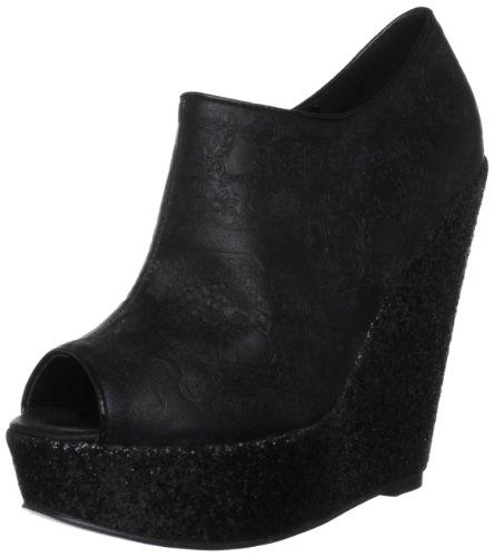 Iron Fist Manslayer Wedge Bootie - Zapatos de tacón de Poli