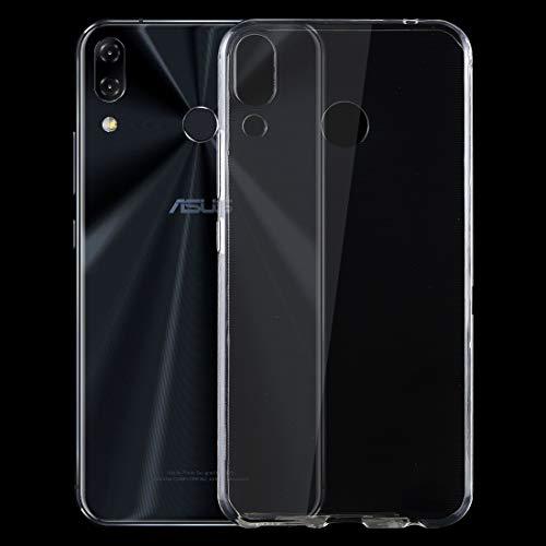 HUANGPUJIAN Fundas para teléfono de 0,75 mm ultrafino transparente TPU funda protectora para Asus Zenfone 5 ZE620KL