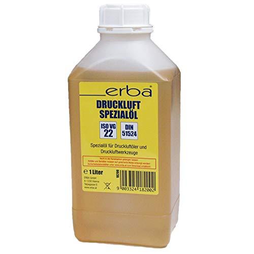 1 x 1LErba Druckluftöl Öl Druckluft für Öler z.B. Schlagschrauber Schleifer 18200