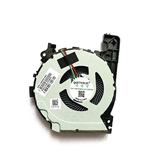 Price comparison product image QUETTERLEE Replacement New Compatible for HP Pavilion 15-CX 15-CX0060TX 15-CX0058WM DC28000KZF0 SPS-L20335-001 CPU Fan (NOt VGA)