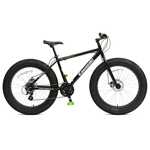 Kawasaki Sumo Fat Tire Bike, 26 x 4 inch Wheels, 18.5 inch Frame, Unisex