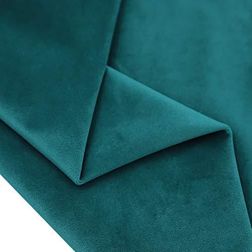 MUYUNXI Tela de Terciopelo Suave para Coser de Chaquetas decoración decoración del hogar Cortinas tapicería Vestido sillas 280 cm de Ancho Vendido por 2 Metro(Color:S037)