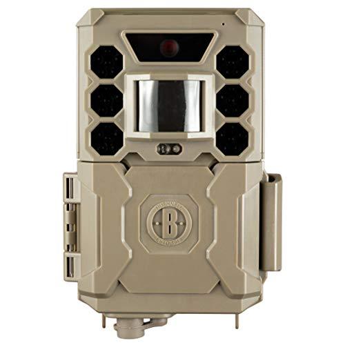 Bushnell Wildkamera Core 24 MP - Fotofalle, Low Glow, hohe Reichweite, mit Befestigungsgurt, Überwachung, Garten, Trailcamera, 119936M