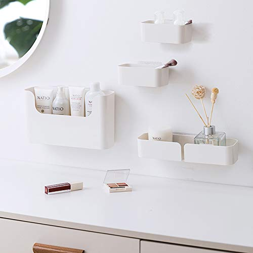Dalanpa Floating Shelf Adhesive Bathroom Organizer