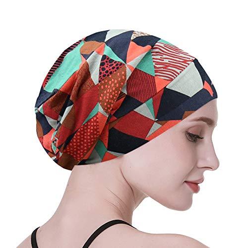 Satin Sleep Cap,Silk Lined Extra Large Black Women Natural Hair Bed Bonnet