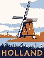 ERZAN大人のパズル1000ヴィンテージオランダ旅行成人益智游戏