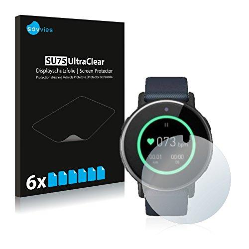 Savvies 6X Schutzfolie kompatibel mit Acer Leap Ware Bildschirmschutz-Folie Ultra-transparent