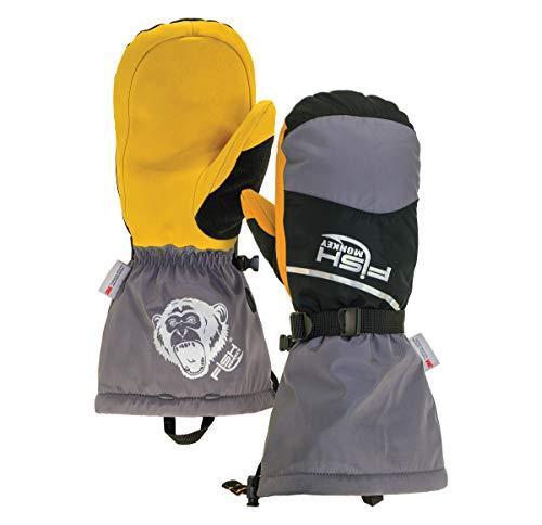 Fish Monkey FM36-GB-XXL Yeti Premium Ice Fishing Mitten 2XL,...