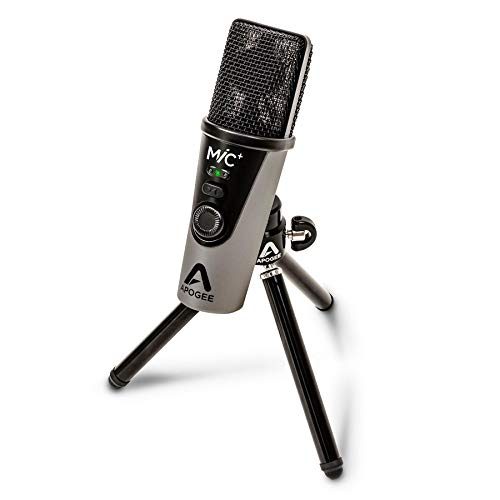Apogee Mic+ USB-micrófono Kabelgebunden Incl. Stativ, Incl. Cable