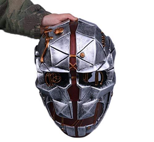 SLM-max Sehr gruselige Maske Dishonored Shame 2 Demütigung 2 Maske Corvo Cosplay Halloween Assassin Maske, Demütigung2Masken-OneSize