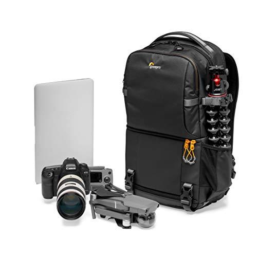 Lowepro Fastpack BP 250 AW III Kamerarucksack - Kameratasche / Fotorucksack für spiegellose und DSLR-Kameras wie Nikon D850, 300D, mit Zugang per QuickDoor, Fach für 13-Zoll-Laptop, Ripstop, Schwarz