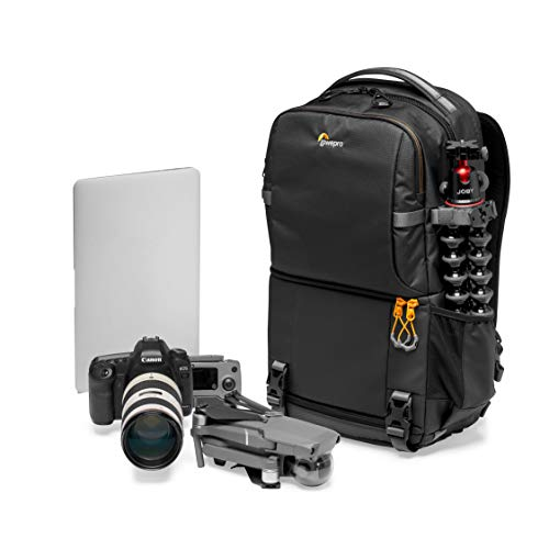 Lowepro Fastpack BP 250 AW III Mirrorless DSLR Camera Backpack - QuickDoor Access and 13 Inch Laptop Compartment DSLR accessories- Camera Bag Backpack for Mirrorless or DSLR - 300D Ripstop - Black