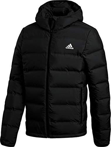 adidas Herren Helionic Hooded Daunenjacke, Black, XL