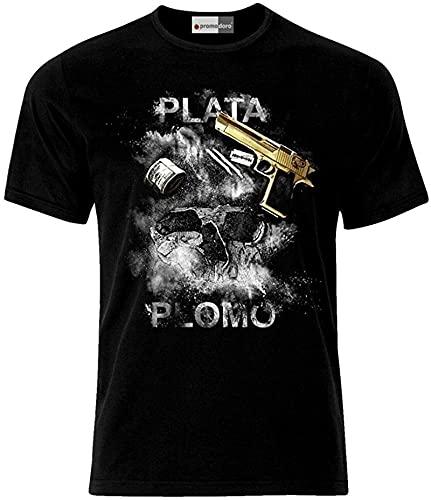 HUSHUANG Plata O Plomo Colombia T-Shirt_310
