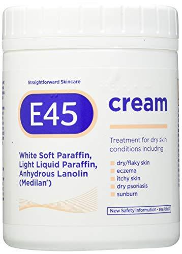 E45 Dermatological Cream Tub, 500g