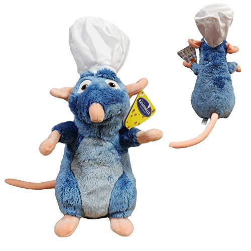 Disney Ratatouille - Remy Plüsch mit Kochmütze 33 cm Superweiche Qualität