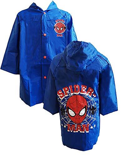 Spider man - Impermeabile Spiderman 3-4 Anni 5-6 Anni 7-8 Anni - 5-6-anni
