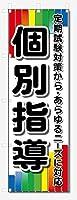のぼり旗 個別指導 (W600×H1800)学習塾