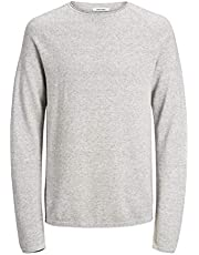 JACK & JONES Jjehill Knit Crew Neck Noos Felpa Uomo