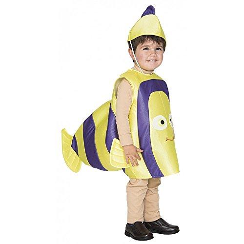 Partyklar Costume de poisson clown 2-3 ans pour enfant.