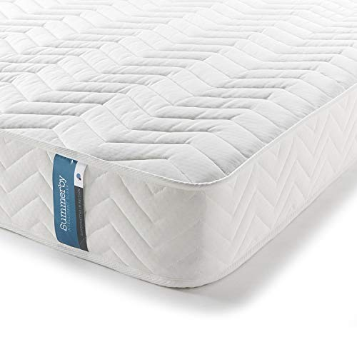 Summerby Sleep' No1. Coil Spring and Memory Foam Hybrid Mattress | King Size: 150cm x 200cm