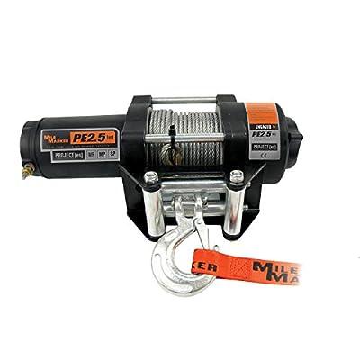 Mile Marker 77-50112BW ATV/UTV Element Sealed Electric Winch, 3500 lb (PE3.5)