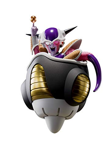 Inconnu noname Dragon Ball z - Frieza First Form & pod - Figurine s.h. figuarts 11cm Noir
