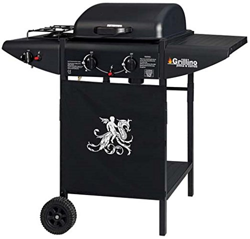 barbecue gas GDLC Grillino 104x54x94