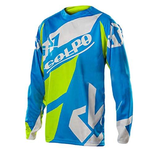 Maillot de Ciclismo para Hombre Camisa de Manga Larga MTB Camisa de...