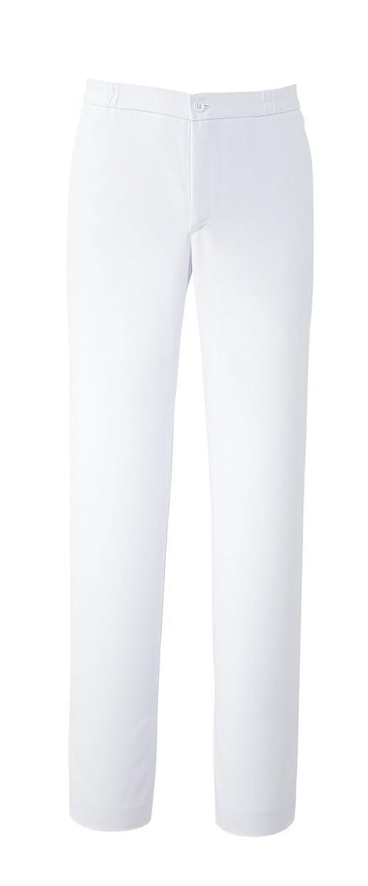 耐えられるコーデリアにぎやか白衣 スクラブ 男性用 手術衣 オペ着 フォーク(FOLK) 5016EW メンズパンツ サイズ:S~4L (BL, 1.ホワイト)