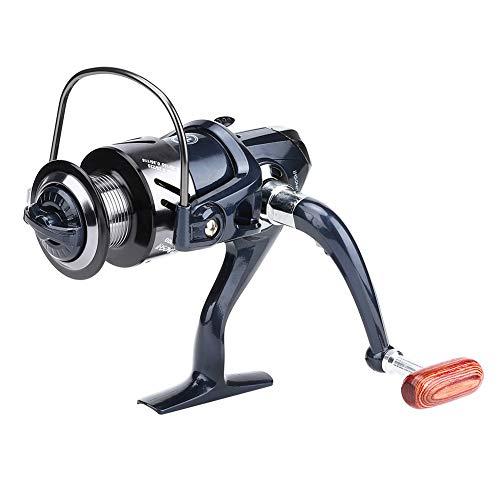 Plegable aleación de aluminio de largo alcance resistente de alta velocidad de fundición Spinning Pesca carrete TX3000