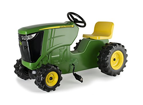TOMY John Deere Pedal Tractor, Ride on Tractor Toy