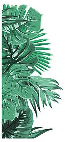 Wandtattoo Dschungel Blätter für die Wandecke Wandsticker florale Dekoration
