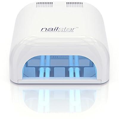 NailStar Professional 36 Watt UV Nail Dryer Nail Lamp for Gel