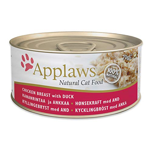 Applaws Cat Tin 24x70g Chicken with Duck