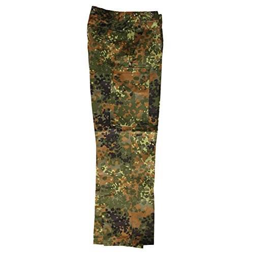 Leo Köhler Original Pantalon de camouflage armée allemande Taille BW 33/72