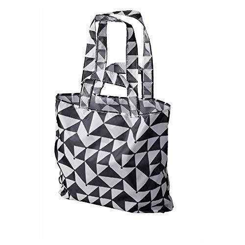 Skynke Carrier bag, Black/White