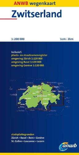 Zwitserland: schaal 1:200.000