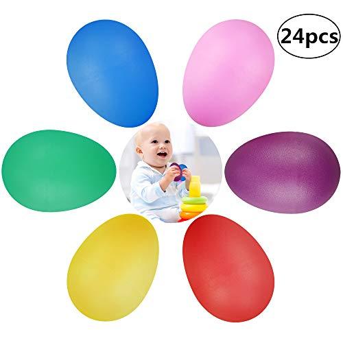 LUOEM 10 unids pl/ástico Que cuelga los Huevos de Pascua Falsos Huevos Falsos Juguete para la decoraci/ón de Pascua ni/ños ni/ños Pintura DIY