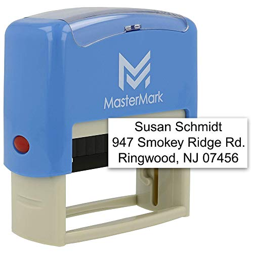 Our #3 Pick is the MasterMark Custom Personalized Address Stamp