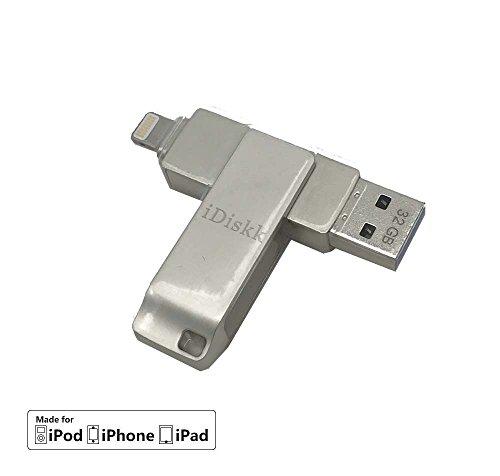 iDiskk Mini USB 3.032GB para iPhone/iPad
