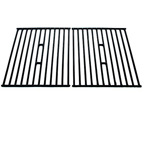 Direct Store Parts DC112 Polished Porcelain Coated Cast Iron Cooking Grid Replacement for Broil King, Broil-Mate, Huntington, Silver Chef,Sterling Gas Grill