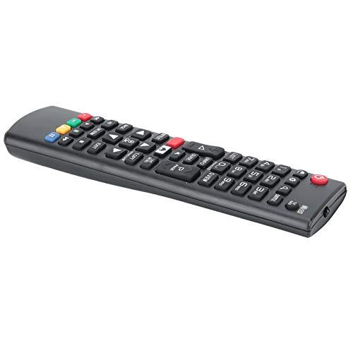 Mxzzand Mando a Distancia Resistente al Desgaste y fácil de Usar Material de ABS de Repuesto con botón Grande programado, para TV LCD LG, para el hogar, para el Hotel