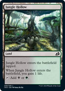 Magic: The Gathering - Jungle Hollow - Foil - Ikoria: Lair of Behemoths