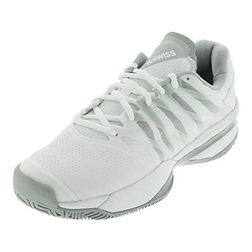 K-Swiss Ultrashot Womens Tennis Shoe (White/High Rise) (7)