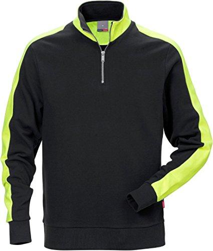Fristad Kansas - Sweatshirt with zip 7449 RTS X/Large Black 111263-940 XL