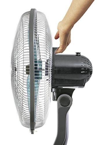 Rowenta Standventilator VU4110 ESSENTIAL | Durchmesser 40 cm/sehr leise/hohe Luftumwälzung | Schwarz
