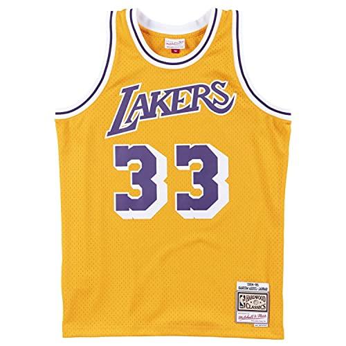Mitchell & Ness Swingman LA Lakers 1984-85 Kareem Abdul-Jabbar - Camiseta (talla S)