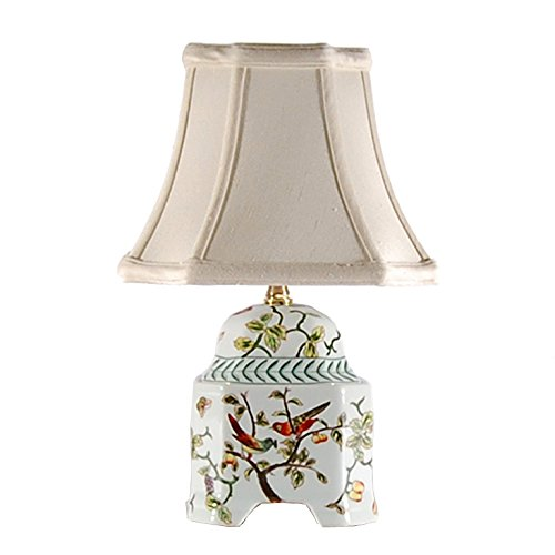 Song Birds Small Accent Table Lamp